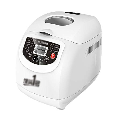 Fikujap Multifunctional Bread Maker, with Led Display, for Cake Bread Toast Dough Maker