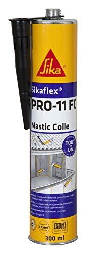 Sika Sikaflex PRO 11 FC – Recarga de masilla de pegado y sellado, 600 ml, Blanco