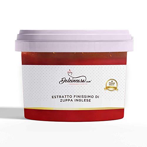 Dolcincasa Estratto Finissimo Di Zuppa Inglese, Semilavorato Per Gelato Creme Pasticcere Panna Montata Torte, 220 Grammo