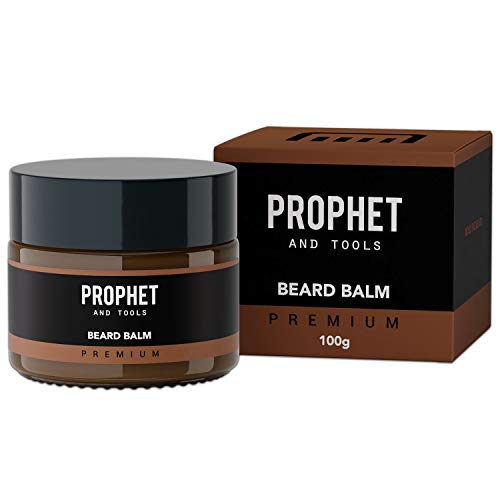 Styling Beard Balm - Organic and Moisturizing Beard Butter with 12 Hour Hold   Works with All Ethnicities & Hair Colors   Reduces Skin Irritation & Flaking - Invigorates Beard Growth   100g