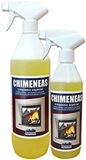 Revimca - Limpiador de chimeneas para interior y exterior 1 litro