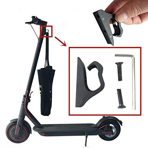 Lovejoy Store Elektro-Scooter-Haken, Nylon, für Elektro-Scooter, Front-Haken, Klauen-Aufhänger, Gadget für Xiaomi Mijia M365, Schwarz