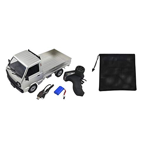 lahomia Toy Grade WPL D12 RC Truck 1:10 Scale Truck On-Road Boys Niños Regalos