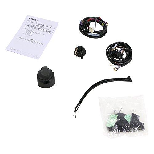 Juego eléctrico de 13 Polos y específico para Renault Kangoo (BJ 07/2002 – 02/2008), Nissan Kubistar (BJ 01/2002 – 12/2009) – Solo para vehículos con señal acústica