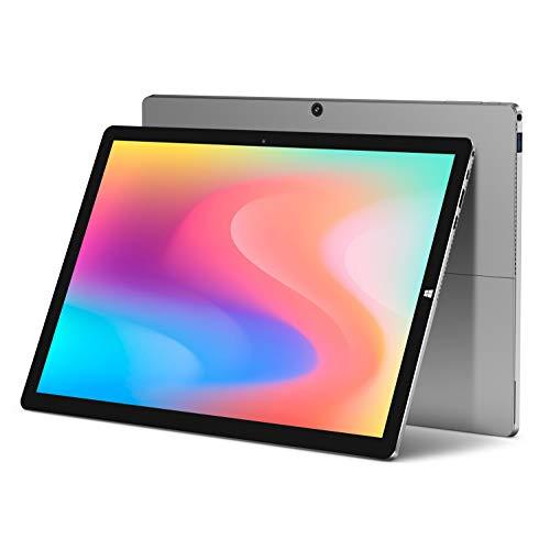 "TECLAST PC Ordenador Portátil 2 en 1 Tablet Windows 10 X6pro 12.6"" 2880x1928 IPS Intel Core M3-7Y30, 8GB ROM+256GB SSD, Cámara 2+5MP+Type C+Bluetooth+GPS+WiFi+38000mWh (No Incluye Teclado y Stylus)"