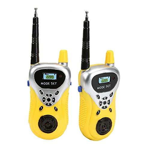 Chilren walkie talkies de Juguete Talkie Mini Intrecom Dos vías Radio portátil inalámbrico Walkie Talky Enfriar los Juguetes de Interior y Exterior del Juguete de los niños al Aire Libre