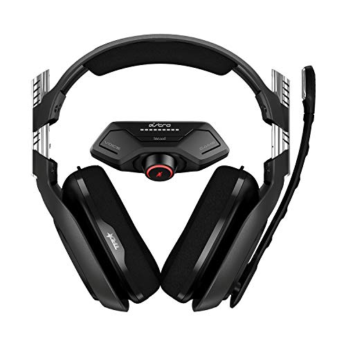 ASTRO Gaming A40 TR Cuffie Gaming Cablate e MixAmp M80 su Controller, 4 Gen, ASTRO Audio v2, Dolby ATMOS, Microfono Intercambiabile, Equilibrio Gioco/Voce per Xbox Series X|S, Xbox One, Nero/Verde