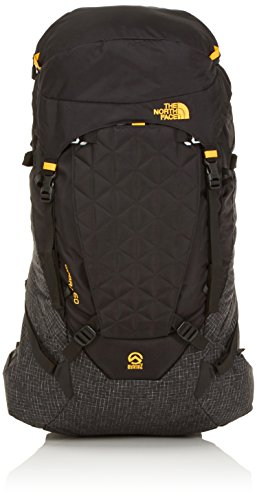 The North Face Cobra Sac à Dos Mixte Adulte, Black/Summit Or, Taille S-M