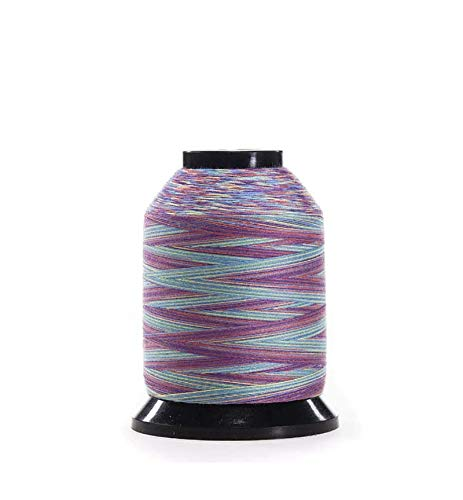 Finesse, Rainbow, Quality Quilting Thread, Variegated Colors, 100% Polyester in Stackable Mini-Cone