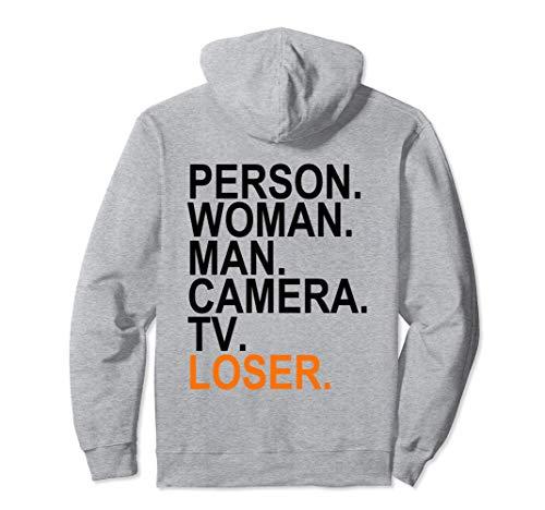 Person, Woman, Man, Camera, tv, LOSER Pullover Hoodie
