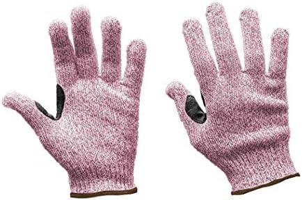 SAFE HANDLER Reinforced Cut Resistant Gloves Touchscreen Compatible Level 5 Cut Resistance Ambidextrous product image