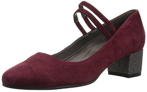 Aerosoles Women's PAD Thai Pump, Wine Suede, 9 M US
