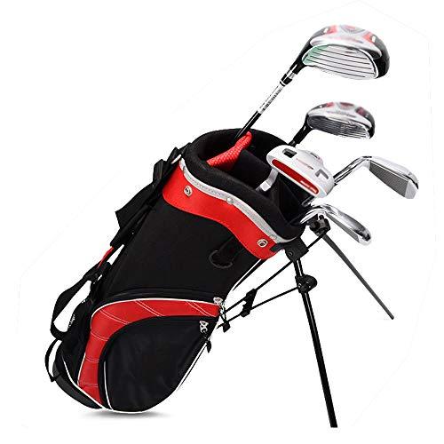 HO-TBO Golf Cartbag & Standbag Klassische Kindergolftasche Jungen Leichtes Golf Travel Multifunktional Golftasche Großvolumige Wasserdicht Und Leicht Nylon Ma (Color : Boy, Size : 3-9 Years Old)