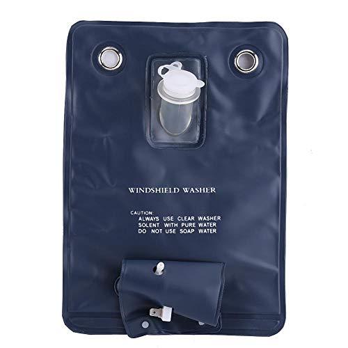 Bomba de lavadora Kit de bolsa de bomba de lavaparabrisas universal de 12 V con interruptor de botón de chorro para autos clásicos AWP 23