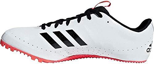 adidas Sprintstar, Zapatillas de Atletismo para Hombre, Multicolor (FTWR White/Core Black/Shock Red B37503), 43 1/3 EU