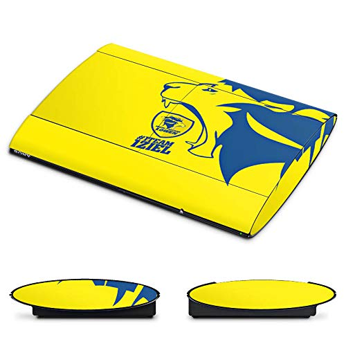 Skin kompatibel mit Sony Playstation 3 PS3 Superslim CECH-4000 Aufkleber Folie Sticker Handball Rhein Neckar Löwen Fanartikel Geschenk