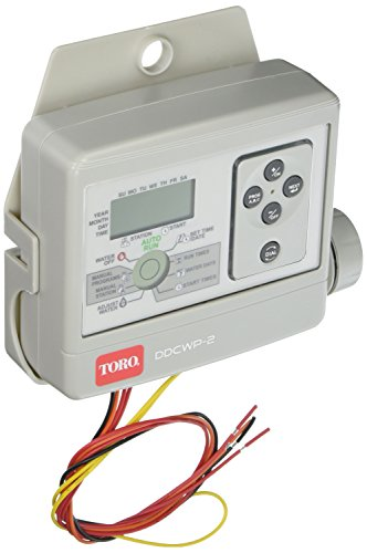 Toro DDCWP-2-9V Waterproof 2 Station Battery Controlled Controller