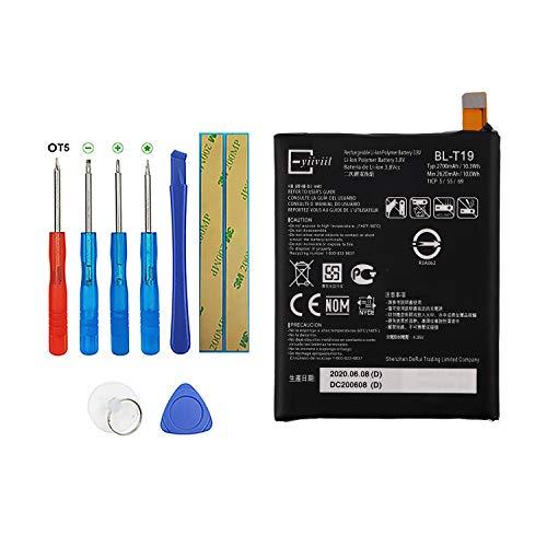 Vvsialeek BL-T19 - Batería compatible con Google Nexus 5X H791 H790 con kit de herramientas