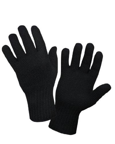 Rothco Wool Glove Liner, Black, Small