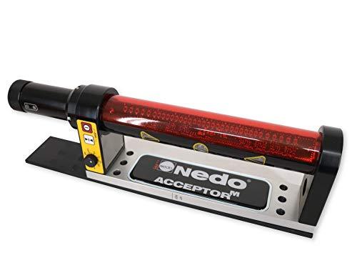 Maschinenempfänger/Baggerempfänger Nedo Acceptor M für Rotationslaser mit Neigungskompensation. Made in Germany! Im stabilen Koffer - 3