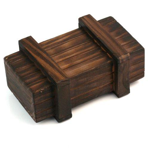 Boîte trésor en bois