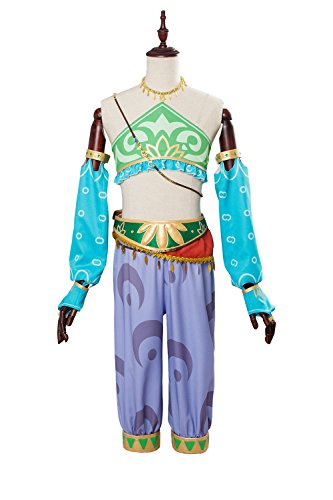 The Legend of Zelda: Breath of the Wild Link Outfit Cosplay Kostüm Damen M