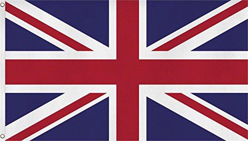 normani XXL Flagge Fahne, genäht in 150 x 250 oder 300 x 500 cm Farbe Großbritannien Größe 150x250