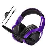 Amazon Basics Pro Gaming Headset - Purple