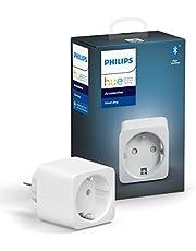 Philips Hue Smart Plug, slim stopcontact, compatibel met Amazon Alexa (Echo, Echo Dot)