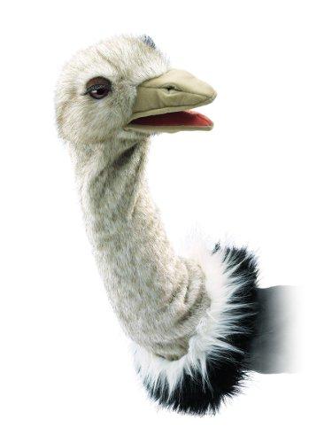 Folkmanis Puppets 2872 - Vogel Strauß für Puppenbühne