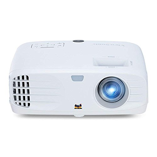 ViewSonic 1080p Projector with 3500 Lumens DLP 3D Dual HDMI and Low Input Lag for Gaming, Enjoy Netflix Streaming (with Dongle) (PX700HD)