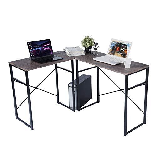 escritorio marron de la marca HOMEMAKE FURNITURE