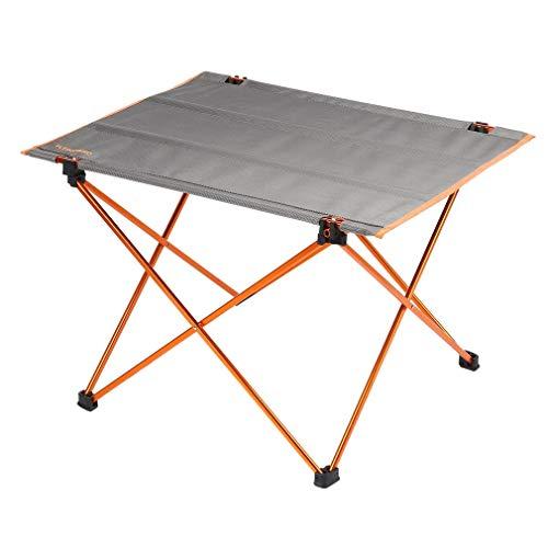 Campingtisch Camping Klapptisch Ultraleicht - 57 x 43 x 43cm Alu Tisch Balkon klappbar - Beistelltisch Balkontisch