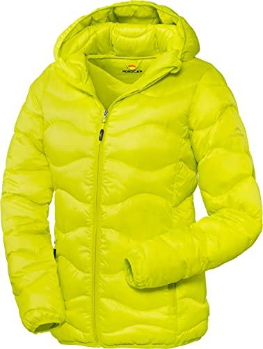 NORDCAP Damen Steppjacke, wärmende Outdoor-Jacke, Funktionsjacke für Natur & City, Übergangsjacke für Frauen, wetterfestes Multitalent, Gr. 36-50