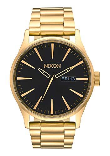 Nixon Reloj Analógico de Cuarzo para Hombre con Correa de Acero Inoxi
