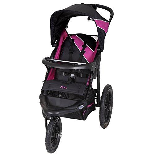 Baby Trend Xcel Jogger Stroller, Raspberry