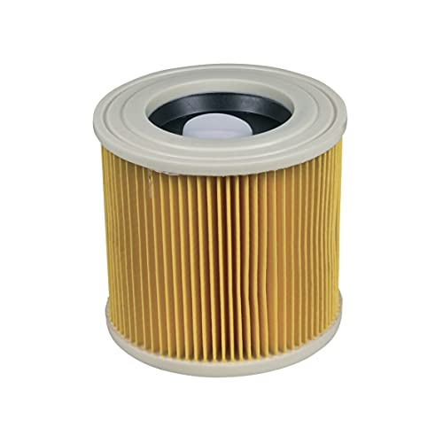 Europart Filtro de aire 10031234, filtro de láminas, filtro de pliegues planos, filtro central HEPA WD2 WD3 SE4001 A2003 NT27/1, aspiradora multiusos compatible con Kärcher 6.414-552.0 64145520