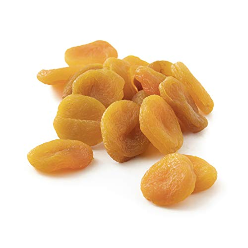 NUTS U.S. – Dried Apricots | Jumbo Size Turkish Apricots | No Added Sugar & Color | Chewy and Juicy Texture | Non-GMO and No Added Flavor | Whole Pitted Apricots In Resealable Bags