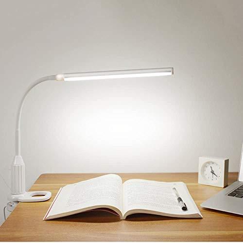 Docooler 5W 24LEDs Stepless Dimmable Schreibtischlampe/LED Tischlampe, Stufenlos Dimmbar Helligkeit/Bendable Schwanenhals/USB Powered/Touch Sensor Steuerung