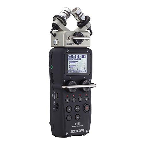 Zoom  H5 - Grabador de voz (digital, de 4 pistas, portátil), color...