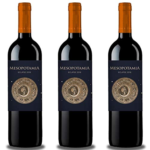 Vino de Toro MESOPOTAMIA ECLIPSE 2018 (3 bot x 75 cl.) - Vino Tinto 10 meses en barricas francesas. Vino sabroso, elegante y equilibrado