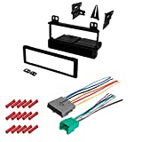 CACHÉ KIT346 Bundle with Car Stereo Installation Kit for Ford 1995 – 1997 Ranger – in Dash Mounting Kit, and Harness for Single Din Radio Receivers (3 Item)