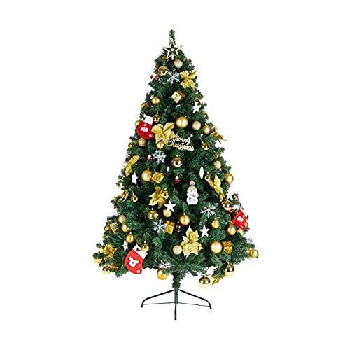 WEIJINGRIHUA Árbol de Navidad Árbol Artificial Árbol De Navidad con Decoraciones Paquete...