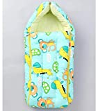 MOM & SON 2 in 1 Baby's Sleeping and Carry Bag (Green)