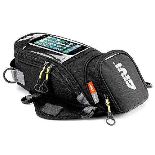 GIVI (ジビ) バイク用 タンクバッグ 6L スマホホルダー付き マグネット固定 EA106B 94359