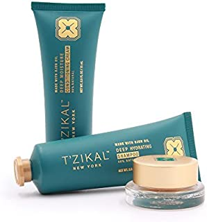 T'zikal Rejuvenation Project:14-Day Ojon Oil Hair Products for Anti-aging Hair Care Treatment - Natural Hair Products to Repair Dry Damaged Hair, Safe for Color Treated Hair-Paraben Free Hair Products
