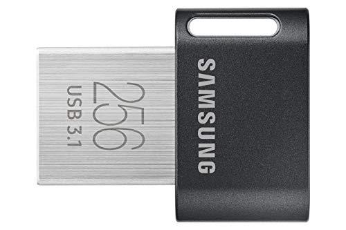 Samsung MUF-256AB unidad flash USB 256 GB USB tipo A 3.2 Gen 1 (3.1 Gen 1) Gris, Plata