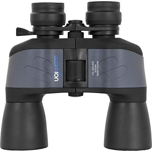 Zoomion Pellicano 10-30x50mm Binocolo per Bambini Adulti - Compatto e Piccolo, Ottica Bordo Tetto BK-7, Zoom Continuo con Accessori