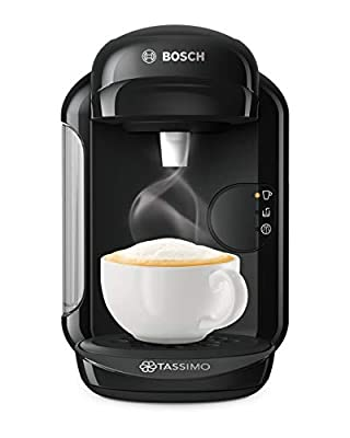 Bosch Tassimo Vivy 2 TAS1402GB Coffee Machine, 1300 Watt, 0.7 Litre - Black (Renewed)