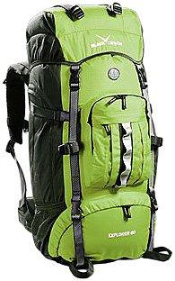 Nero Canyon Zaino Explorer, Verde (grün), Taglia unica